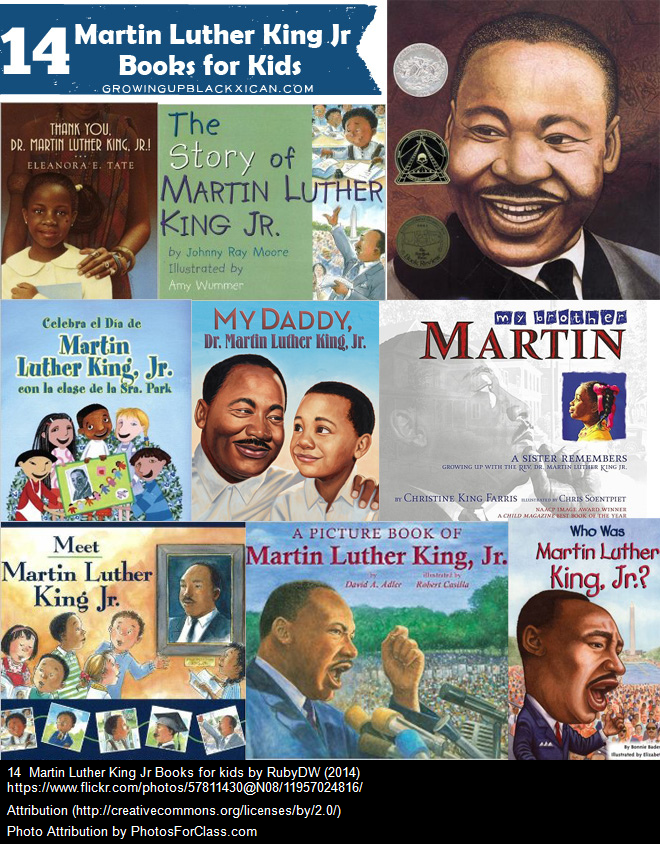 14 Martin Luther King Jr Books for Kids
