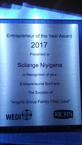 Entrepreneur of the Year Award